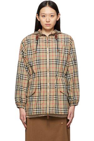 Burberry Nylon Check Binham Jacket
