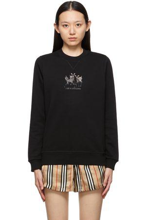 Burberry Embroidered Deer Berkley Sweatshirt
