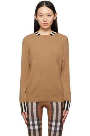 Burberry Cashmere Icon Stripe Eyre Sweater