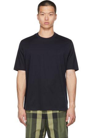 Burberry Navy Monogram Motif T-Shirt