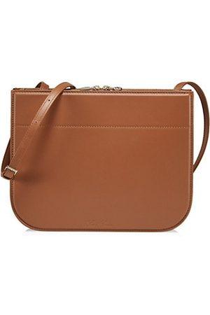 Loro Piana Handbags - My Way Leather Saddle Bag