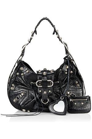 Balenciaga Medium Le Cagole Leather Shoulder Bag