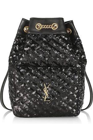 Saint Laurent Handbags - Sequin Logo Backpack
