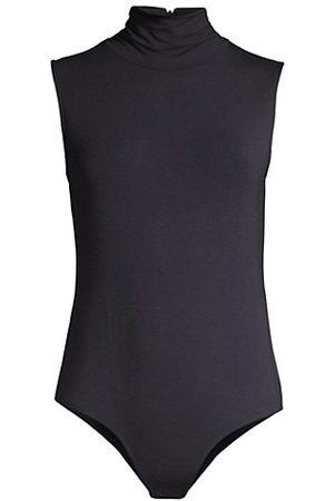ELIE TAHARI Sleeveless Turtleneck Bodysuit