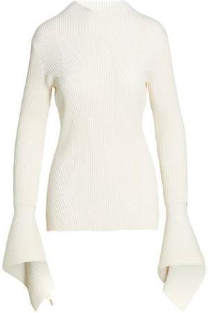 Acler Sanders Skivvy Rib-Knit Sweater
