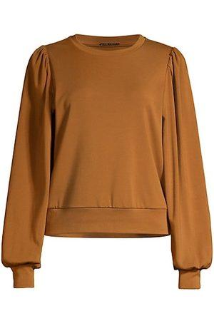 ELIE TAHARI Women Jumpers - Banded Puff-Sleeve Sweater