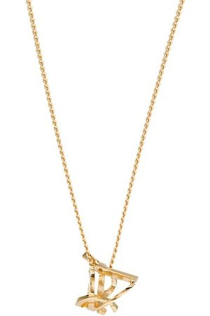 Yves Saint Laurent Necklaces - Monogram Twist Pendent Necklace