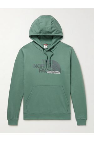 The North Face Logo-Print Cotton-Jersey Hoodie