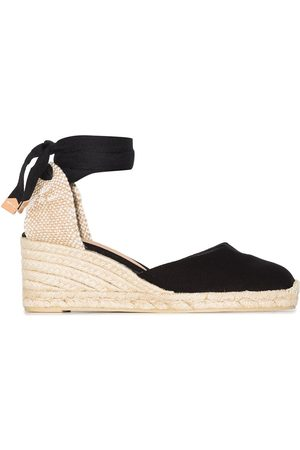 Castañer Carina 60 ankle-tie wedge sandals