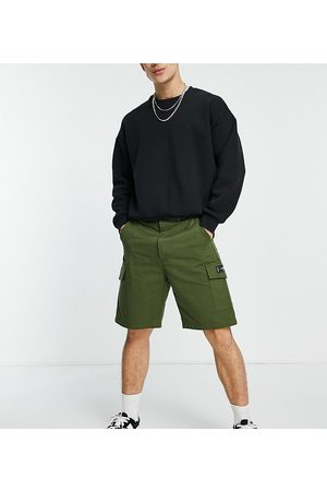Sixth June Utility relaxed fit cargo shorts in khaki