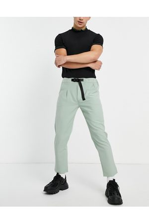Sixth June Skinny trousers in dusty with belt detail