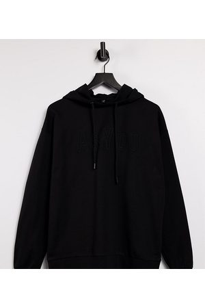 AsYou Branded embroidery hoodie in