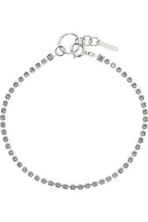 Justine Clenquet SSENSE Exclusive Silver & Kelsey Choker