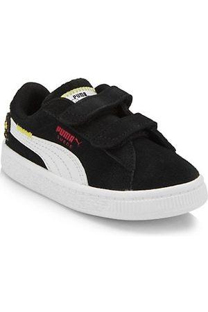 Puma Little Boy's & Boy's Peanuts Suede Classic Sneakers