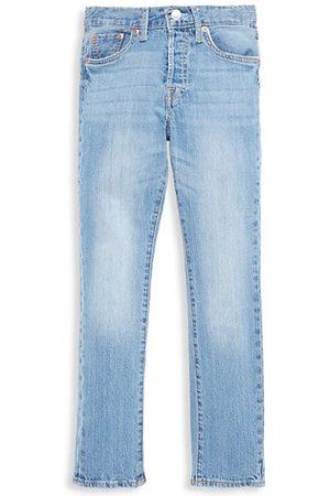 Levi's Girli's 501® Distressed Skinny Jeans