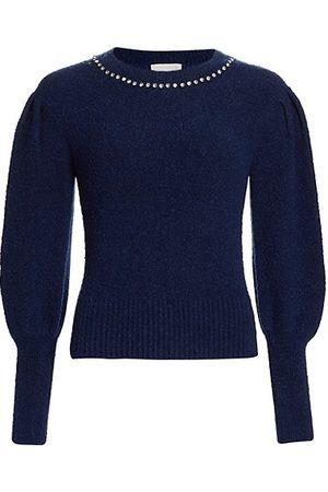 Cinq A Sept Dara Embellished Sweater