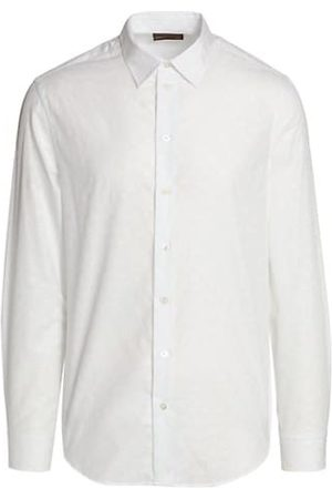 Emporio Armani Cotton Jacquard Sport Shirt