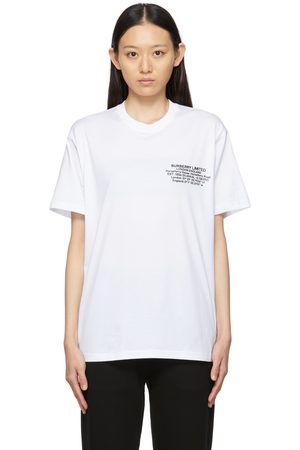 Burberry Location Print T-Shirt