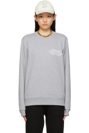 Burberry Location Print Sweatshirt