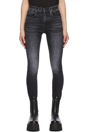 R13 Skinny Fit Stretch Denim Jeans