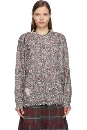 R13 Women Jumpers - Printed Tweed Sweater
