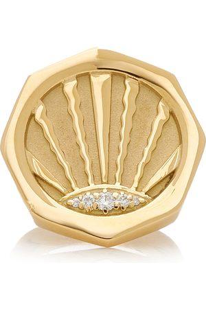 Pamela Zamore Women's Ray 18K Yellow Diamond Ring