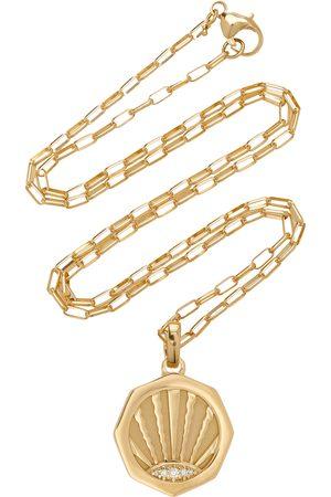 Pamela Zamore Women's Ray 18K Yellow Diamond Necklace