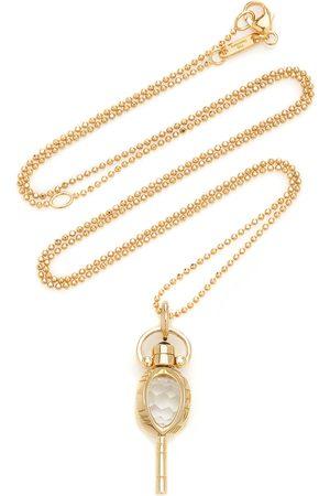 Monica Rich Kosann Women Necklaces - Women's Carpe Diem Mini 18K And Crystal Necklace