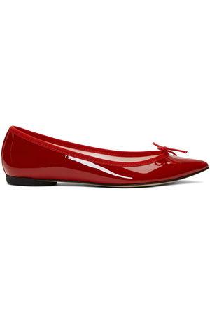 Repetto Patent Brigitte Ballerina Flats