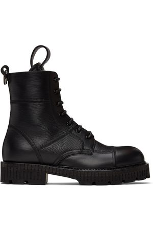 Dolce & Gabbana Hardware Lace-Up Boots