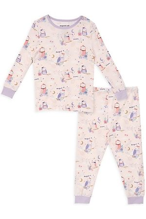 Magnetic Me Little Girl's & Girl's 2-Piece Owl Love You Forever Magnetic Pajama Set