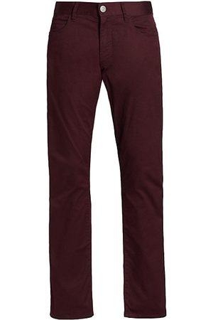 Armani Men Stretch Pants - Stretch Five-Pocket Pants