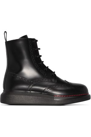 Alexander McQueen Women Ankle Boots - Lace-up ankle boots