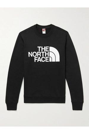 The North Face Men Sports Sweatshirts - Logo-Print Cotton-Jersey Sweatshirt