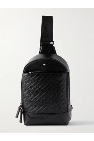Montblanc M_Gram 4810 Logo-Embossed Leather Sling Backpack