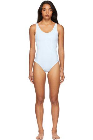Burberry Bio-Based Logo One-Piece Swimsuit