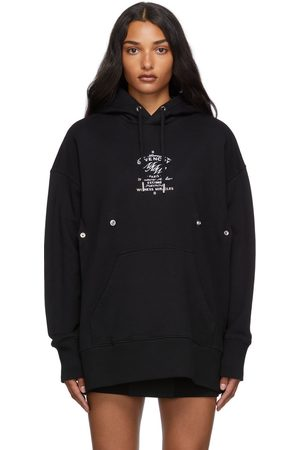 Givenchy Fitted Crest Hoodie