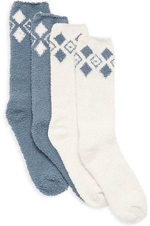 Barefoot Dreams Kid's 2-Piece Sock Set