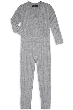 Central Park West Girls Jumpsuits - Girl's Sienna Knit Jumpsuit