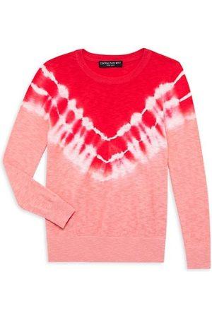 Central Park West Boys Neckties - Girl's Phoenix Tie-Dye Crewneck Sweater