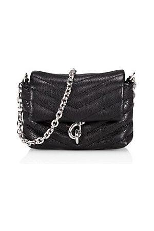 Rebecca Minkoff Women Handbags - Micro Edie Quilted Leather Crossbody Bag