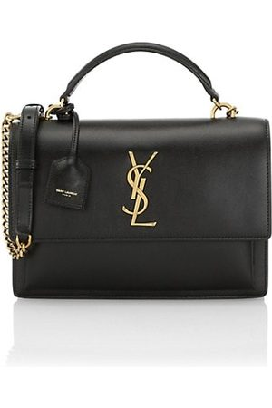 Saint Laurent Women Handbags - Medium Sunset Leather Top Handle Bag
