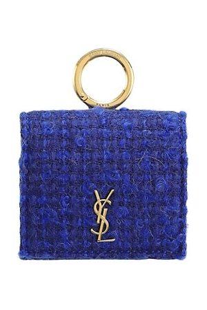 Saint Laurent Women Handbags - Tweed Airpods Pro Holder
