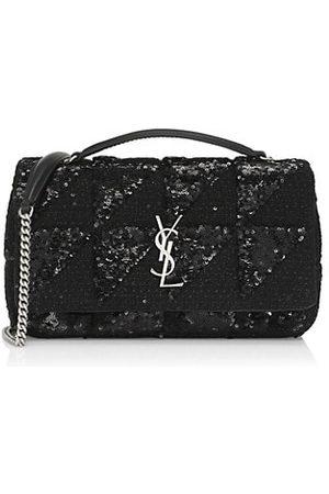 Saint Laurent Women Handbags - Medium Jamie Sequin-Embellished Chain Shoulder Bag