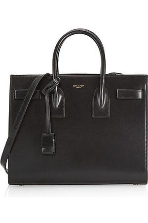 Saint Laurent Women Handbags - Small Carryall Sac De Jour Leather Satchel