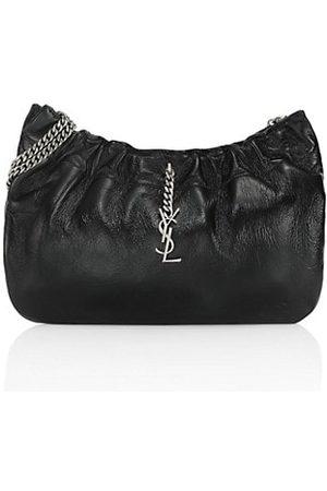 Saint Laurent Women Handbags - Pacpac Leather Hobo Bag
