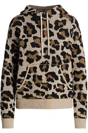 Generation Love Chiara Leopard Print Hoodie