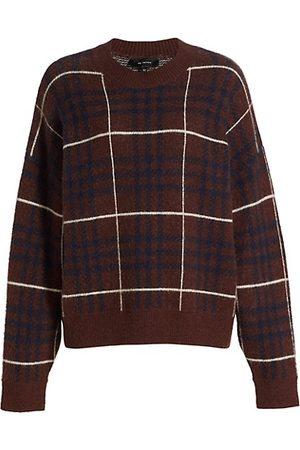 En Saison Women Jumpers - Plaid Crewneck Sweater