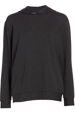Majestic French Terry Hooded Sweatshirt
