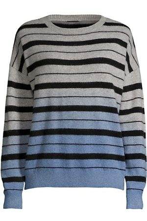 ELIE TAHARI Ombre Striped Sweater